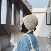 帽子女秋冬季韓版百搭毛線帽潮可愛保暖學生冷帽子韓國針織帽 凱斯盾