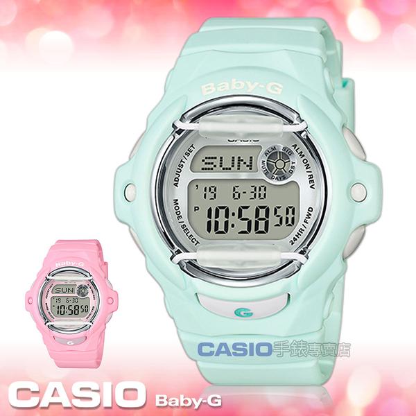 CASIO 卡西歐 手錶專賣店   BABY-G BG-169R-3D 甜美電子女錶 樹脂錶帶 銀色錶面 防水200米 BG-169R