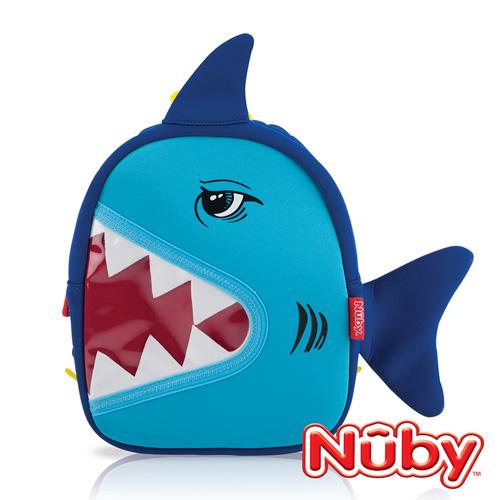 Nuby 3D立體防水背包 鯊魚