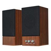 JS 淇譽 JY2039 木匠之音 2.0聲道二件式喇叭 核桃木
