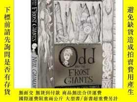 二手書博民逛書店微笑男孩和冰霜巨人罕見英文原版 Odd and the Frost Giants 尼爾·蓋曼 Neil Gaima