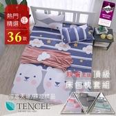 頂級天絲床包枕套二件組 單人3.5x6.2尺 涼感 TENCEL+3M雙吊牌 BEST寢飾 N1
