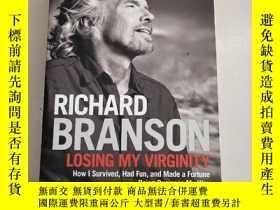 二手書博民逛書店Losing罕見My Virglnlty(失去童貞)平裝庫存Y6318 Richard Branson CRO