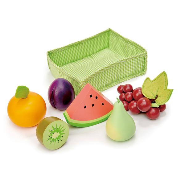 【美國Tender Leaf Toys】新鮮水果大餐(廚房家家酒-水果配件)