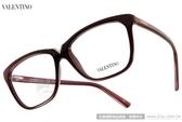 VALENTINO 光學眼鏡 VA2666 C606 (紫紅) 義式時尚時髦簡約款 # 金橘眼鏡
