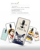 諾基亞 Nokia 6.1 PLUS 手機殼 高清 純樸 彩繪 保護套 時尚 卡通 招財貓 保護殼 全包 磨砂 軟殼