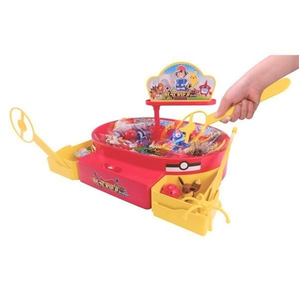 1-2月特價 神奇寶貝 精靈寶可夢 旋轉釣魚樂 TOYeGO 玩具e哥