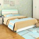 [首雅傢俬] 雙人床架 剪影 米奇 5尺...