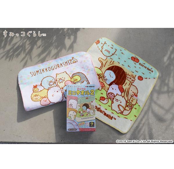 角落生物 小方巾 毛巾 盒裝 隨機 Sumikko Gurash 日本正版 該該貝比日本精品 ☆