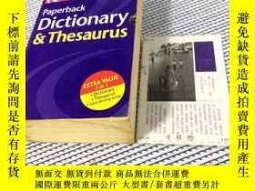 二手書博民逛書店英文原版罕見Collins Paperback Dictiona