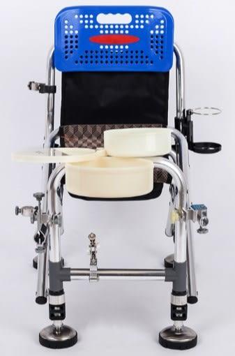[協貿國際] 不銹鋼折疊多功能砲台釣椅配件
