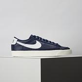 Nike Blazer Low 77 男 深藍 經典 舒適 復古 簡約 球鞋 運動 休閒鞋 DA6364-400