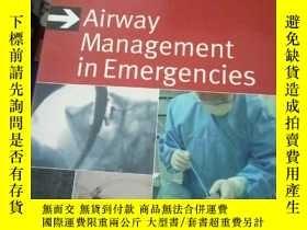 二手書博民逛書店Airway罕見Management in Emergencie