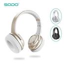 SODO MH11重低音藍芽耳機+外響喇叭 頭戴式折疊藍牙耳機 創意耳機+喇叭二合一 無線耳機