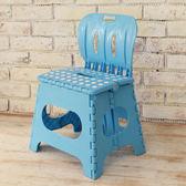 樂生活 麗緻專利折疊椅露營椅(藍色)