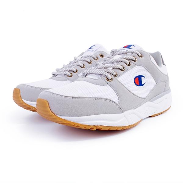 9S-Champion HONEST 復古 慢跑鞋 男款 MFUS-9019-10 白灰