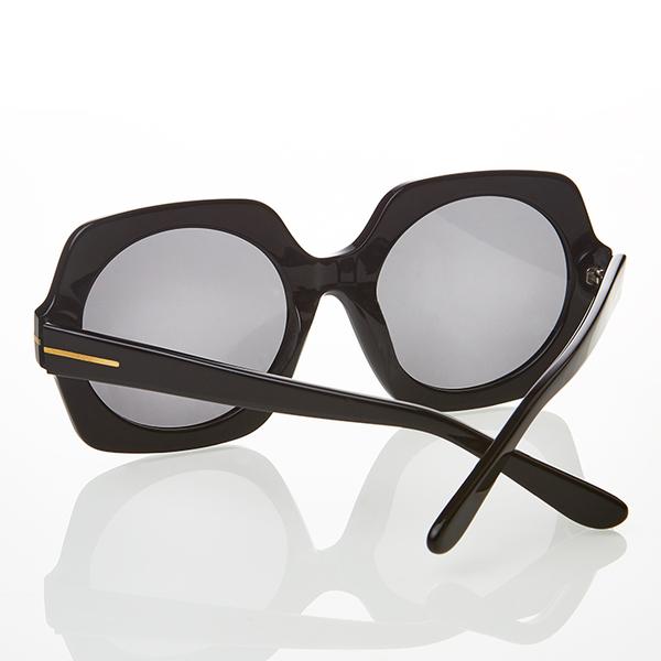 【橘子樹眼鏡】 Annvita 寬版個性粗框【獨家限量】AA4246 - C1 亮黑色 / 抗UV太陽眼鏡