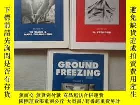 二手書博民逛書店GROUND罕見FREEZING 94; GROUND FREEZING 91 VOLUME 1、2【3冊合售】奇
