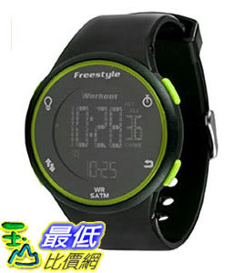 [106美國直購] Freestyle 手錶 Unisex 101376 B008RPANBQ Cadence Round Fitness Workout Green Watch