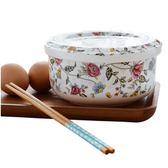 泡麵碗 陶瓷瓷帶蓋微波爐方便面碗骨瓷家用飯碗湯碗面碗蒸碗 QG1776『優童屋』