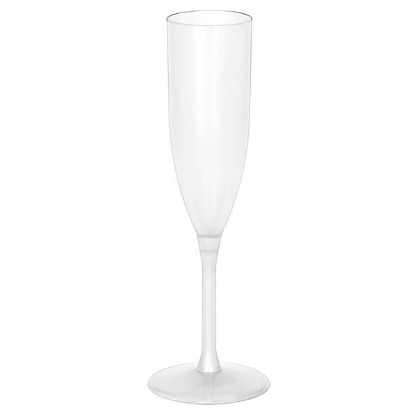 塑膠高腳杯1入-透明