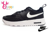 NIKE運動鞋 中童鞋 氣墊 鬆緊帶 Air Max Vision (PSE) 休閒慢跑鞋O7169#黑白◆OSOME奧森童鞋