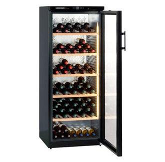 LIEBHERR 德國 利勃 WKb4112 獨立式單溫紅酒櫃 (293L)【07-7428010】