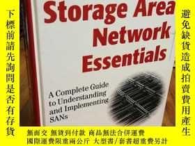 二手書博民逛書店Storage罕見Area Network Essentials: A Complete Guide to Und