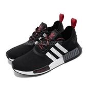 adidas 休閒鞋 NMD_R1 黑 白 紅 男鞋 運動鞋 襪套式 【PUMP306】 FV2548