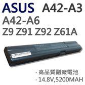 ASUS 華碩 A42-A3 8芯 日系電芯 電池 A6000Jc A6000Je A6000Jm A6000Tc A6000U A6000V Z9100A Z61A Z61AE Z9100 G2Pb G2Pc G2S