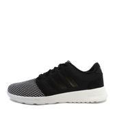 Adidas Cloudfoam QT Racer W [BB9848] 女鞋 運動 休閒 黑 銀