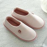 大尺碼月子鞋 薄款軟底包跟產婦產后厚底防水防滑拖鞋 nm6219【VIKI菈菈】