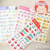 【Triumph Sanrio手帳事務標記貼紙】Norns 蛋黃哥Hello Kitty Melody Kikilala可愛標籤貼紙 雙子星 正版