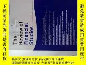 二手書博民逛書店The罕見review of financial studies (Journal)09 2017金融研究學術