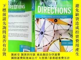二手書博民逛書店New罕見Directions:Reading, Writing, and Critical Thinking