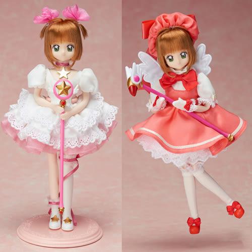 聖誕禮物 組合 庫洛魔法使 小櫻白金版+粉紅服飾_TK89490+TK89491