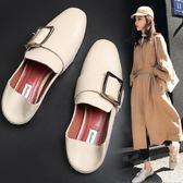 單鞋女平底鞋豆豆鞋秋季新款韓版