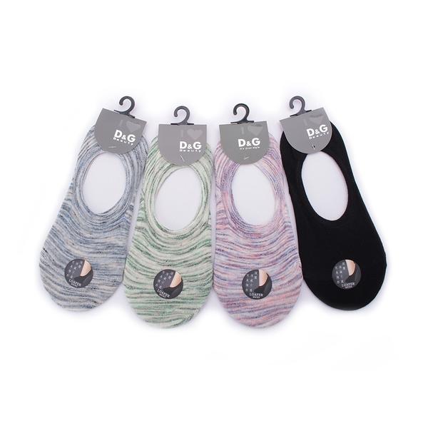 D&G 炫彩樂福襪套 混款 D382 女 鞋全家福