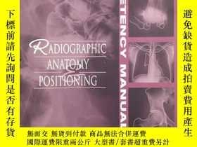 二手書博民逛書店Competency罕見Manual for Radiograp