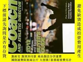 二手書博民逛書店COACH罕見AND ATHLETIC DIRECTOR 2012 02 體育雜誌Y114412