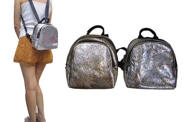 ~雪黛屋~COUNT 後背包超小容量主袋+外袋共三層進口防水牛皮革材質二層主袋BCD50003901100