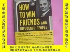 二手書博民逛書店how罕見to win friends and influence people人性的弱點Y428 卡內基 D