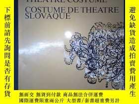 二手書博民逛書店A罕見SLOVAK THEATRE COSTUME COSTUME DE THE ATRE SLOVAQUE(詳見