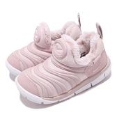 Nike 毛毛蟲鞋 Dynamo Free SE TD 灰 白 嬰兒鞋 學步鞋 小童鞋【ACS】 AA7217-601