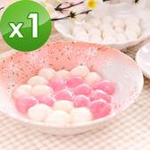 樂活e棧-純糯米紅白小湯圓(600g/盒,共1盒)-素食可食