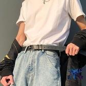 潮流做舊復古風皮帶男時尚個性年輕人褲腰帶百搭學生【古怪舍】