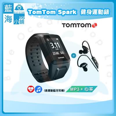 TomTom SPARK 音樂心率健身運動錶 黑色寬錶帶(含藍牙耳機)