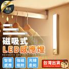 現貨!LED磁吸感應燈 240mm 人體感應燈 長條感應燈 LED感應燈 化妝燈 小夜燈 磁吸燈#捕夢網