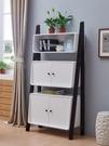 簡易現代簡約書架落地客廳省空間實木置物架小戶型書柜儲物裝飾柜 熊熊物語