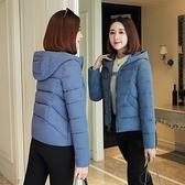 羽絨棉衣女冬季新短款韓版寬鬆外套加肥加大胖mm顯瘦媽媽棉襖